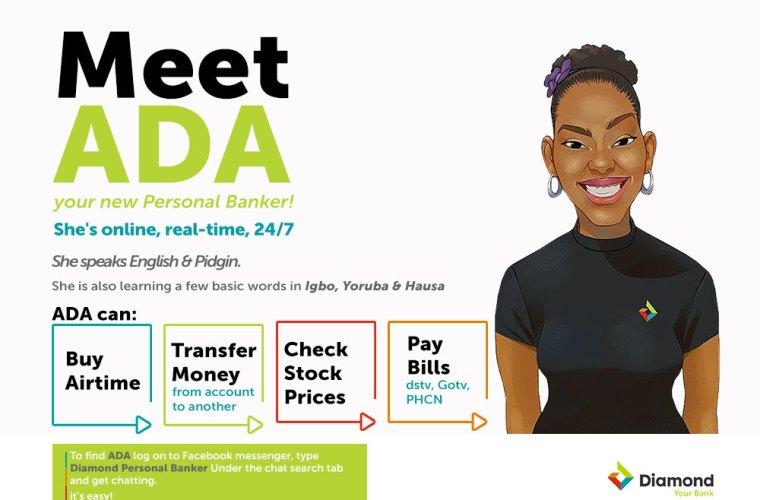 Diamond Bank Personal Banker - ADA