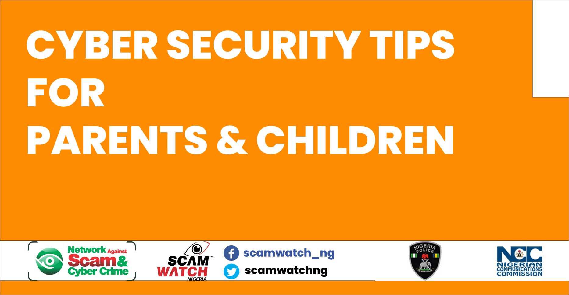 Cybersecurity awareness tips for parents & children
