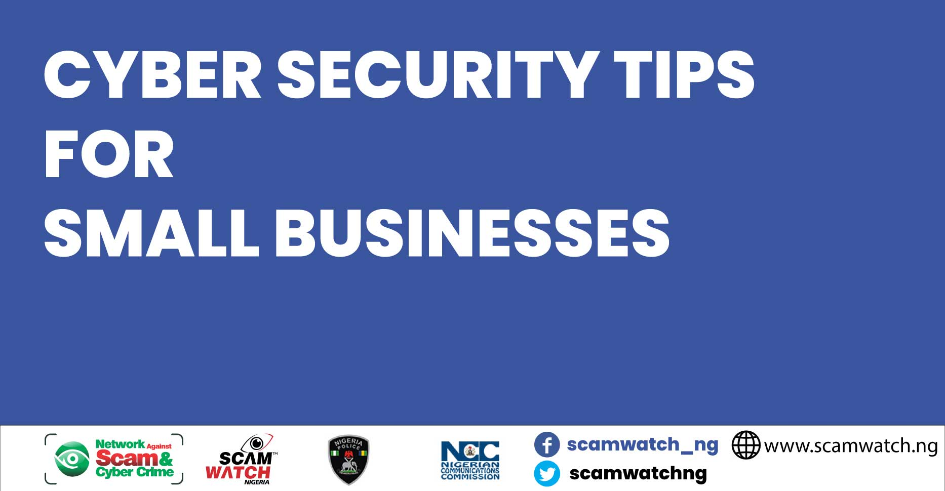 Cyber security awareness tips for Small Businesses