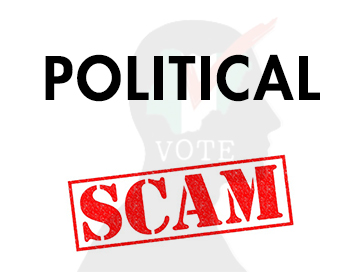 Political scam