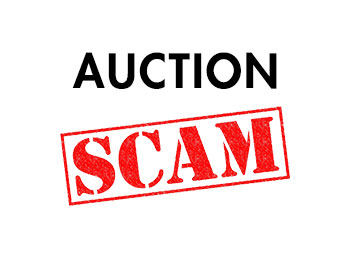 Auction scams