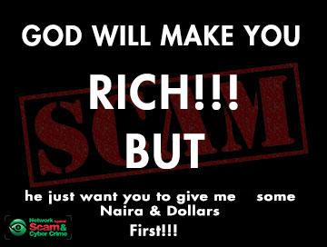 Religious & Spiritual scams