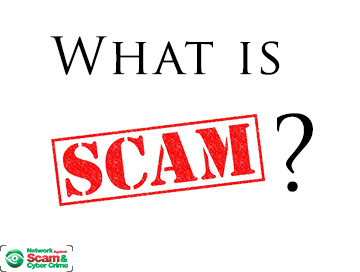 What is scam?