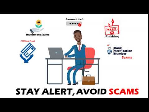 Be Alert   Avoid Scams. Report Scams & Cyber crime to Scamwatch Nigeria via: www.scamwatch.ng/report